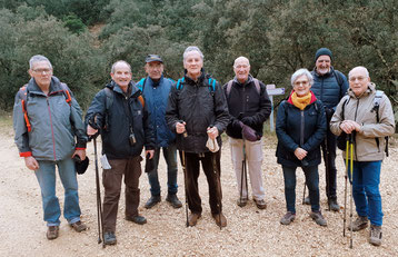 Photo de groupe des marcheurs du 21 janvier 2020 - anocr34.fr