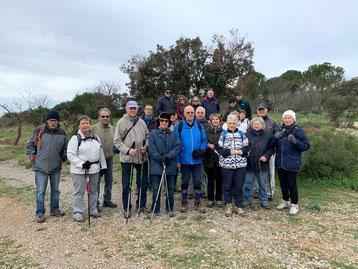 Les marcheurs du 3 mars 2020 (Pignan) - anocr34.fr