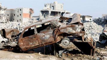 16.08.2017 – BBC Awamiya: In der saudi-schiitischen Stadt, die von Zerstörungen und Kämpfen heimgesucht wurde