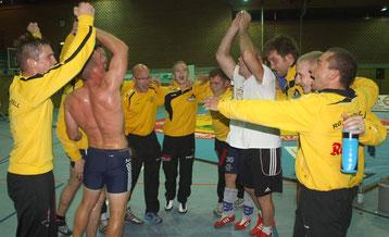 So will das RG Team wieder jubeln, wie zum Saisonauftakt in Viernheim.