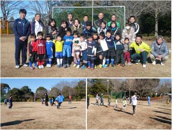 成田SSS 幼稚園親子サッカー大会
