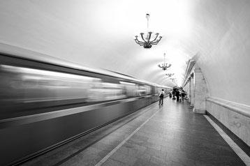 Moskauer U-Bahn-Station