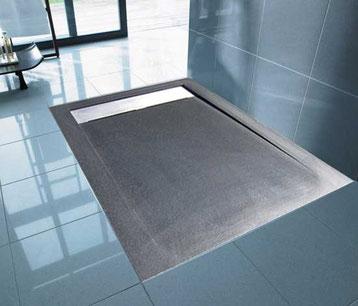 pour ma famille receveur de douche sur mesure extra plat. Black Bedroom Furniture Sets. Home Design Ideas