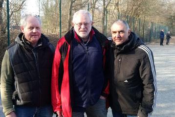 v.l. Christian Wenthe, Heinz Kamp, Michael Sauer