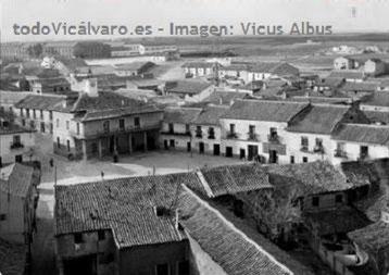 Vista aérea del casco antiguo (Vicus Albus)