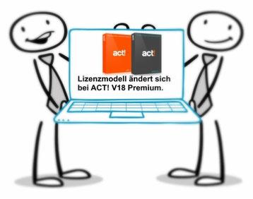 Änderung des ACT! Premium Lizenzmodel ab Oktober 2016. Es wird das Subscripten eingeführt.
