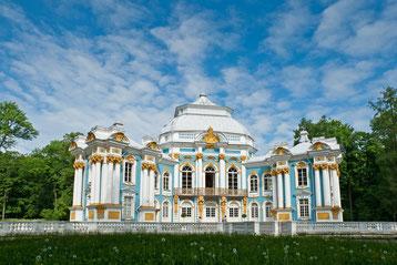 Gartenpavillion Katherinenpalast - St. Petersburg