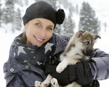 Als Hundefan seit vielen Jahren mit dabei: unsere Pressefrau Sabine Worgitzki. Foto: ExperiArts Entertainment- Franzi Krug