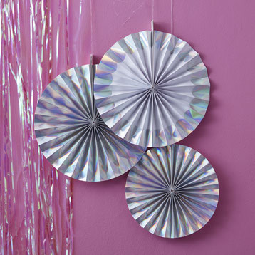 ROSACES ANNIVERSAIRE ADULTE- ADULT PINWHEELS FOR PARTY DECORATION