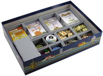 folded space insert organizer Le havre foamcore