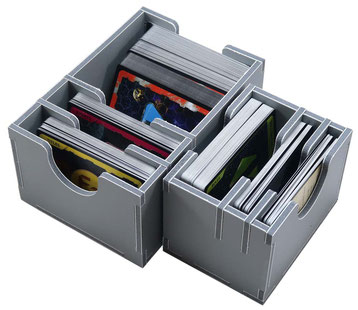 folded space insert organizer xia legends of a drift system foam core