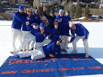 Gentlemen Gardeners - Cricket on Ice, 23-25.2.17
