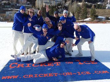Gentlemen Gardeners - Cricket on Ice, 23-25.2.17