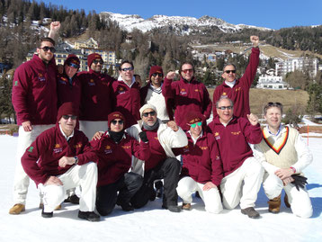Old Cholmeleians XI - Cricket on Ice, 23-25.2.2017
