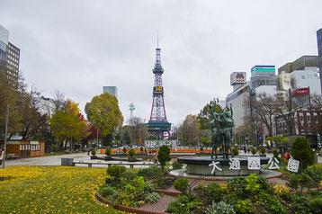 札幌市大通公園の風景写真