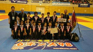 2017年8月13日 第27回全日本ドッジボール選手権全国大会