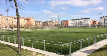 Campo de fútbol de Sansomendi.