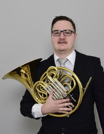 Fabian Zangl, Hornunterricht