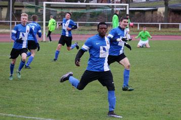 Matchwinner: der 18 jährige Abdoulaye Diallo