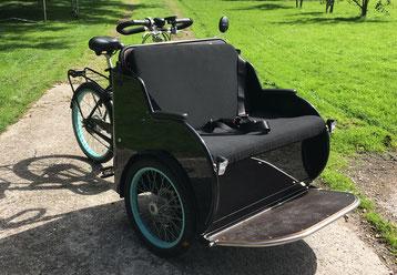 Elektrisch ondersteunde fietstaxi