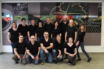 Das aktuelle Ensemble der Theatergruppe des TV Hohenklingen in der Spielzeit 2020