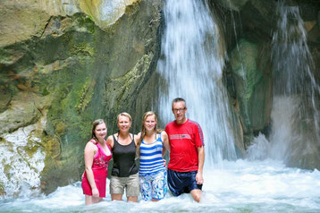 Waterval in Wadi Mujib