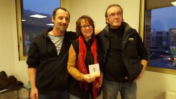 Laurent Dumont, Marie-Hélène Gandy et Jean-Luc Thirion