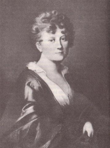 Porträt Caroline von Berg