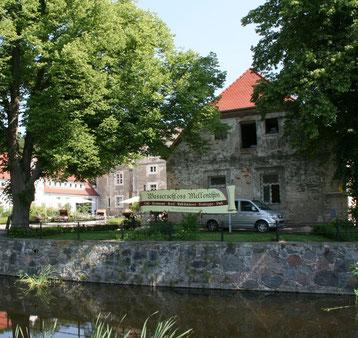 In den Gewölben eines aus dem 17. Jahrhunderts stammenden Seitenflügels des Wasserschlosses Mellenthin auf Usedom gibt es seit 2011 eine Brauerei.
