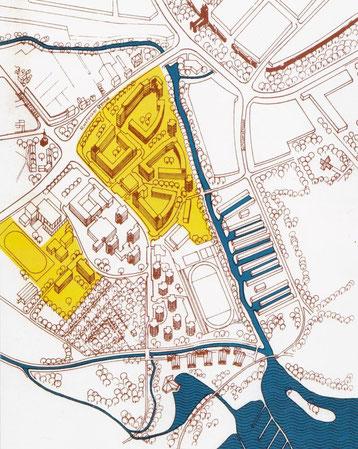 Plan Wohngebiet Rostocker Staße