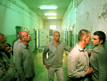 Drehort war das Gefängnis in Alt Strelitz. Foto: Cazzo Film