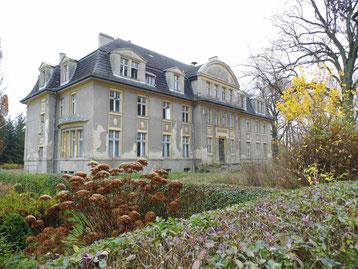 Gutshaus Biesendahlshof November 2014 von der Parkseite aus gesehen