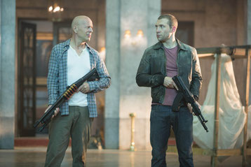Bruce Willis et Jay Courtney, tel père, tel fils (©20th Century Fox)