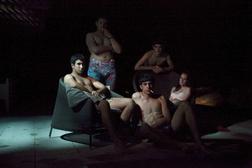 Les jeunes acteurs des APACHES sont des comédiens débutants (©Pyramide Films)