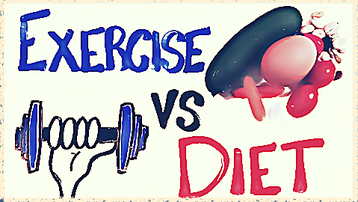should i exercise or diet?