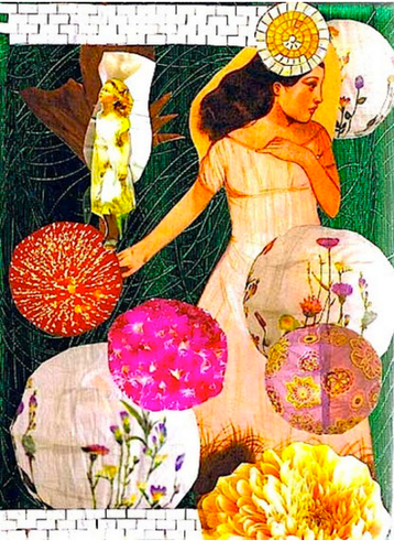 Mixed Media Collage by Shelley Klammer