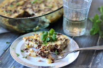 moussaka bulgara Bulgaria ricetta tradizionale a base di patate carne latte farina