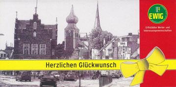 Einsteckkarte für eine GutscheinCard der EWIG aus Erftstadt