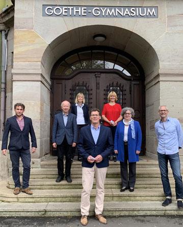 v.l.n.r A. Beuchel, J. Schales. R. Keil-Fuhr, J. Bollmann-Engler, D. Jochheim, G. Uhlenbrock, G. Niederlücke