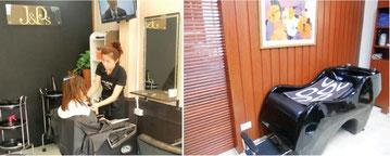 日本人オーナーの美容室