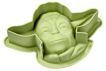 Yoda Backform aus Silikon