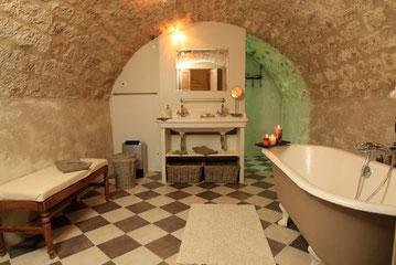 Salle de bain cave champenoise