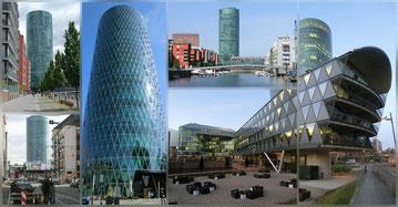 Frankfurt - Gutleutviertel - Westhafen - Westhafen Tower