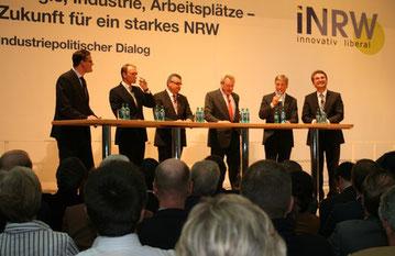 Ein starkes Aufgebot von Multiplikatoren der Industrie, des Handwerks und der Wissenschaft werben für mehr liberales Denken in NRW.
