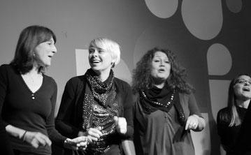 Singen in der Gruppe festes Ensemble