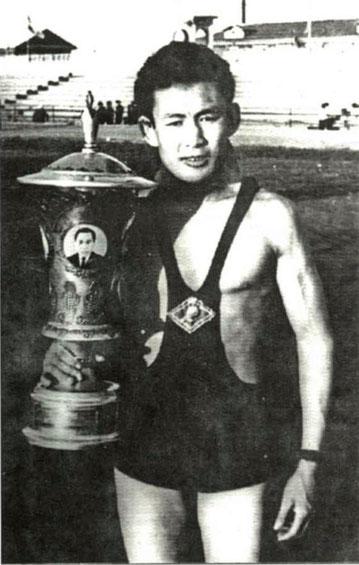 Н.К. Алексеев, мастер спорта СССР