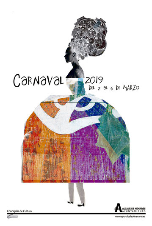 Cartel del Carnaval de Alcalá de Henares 2016