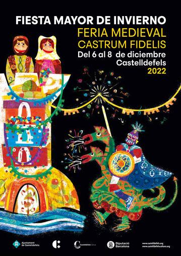 Fira Medieval Castrum Fidelis Festa Major d'Hivern en Castelldefels Programa