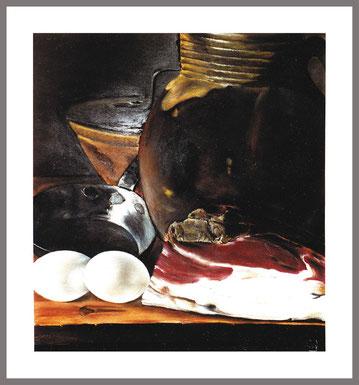 Stilleben,Pastellkreide,56x50 cm