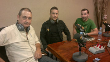 Mario Lanero, Oscar Morejón y Toni Latorre